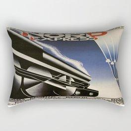 Vintage poster - Nord Express Rectangular Pillow