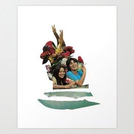 Comrade of Mine Art Print