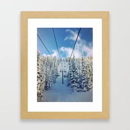 Chairway to Heaven Framed Art Print