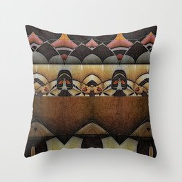 at the anatomical theatre Throw Pillow