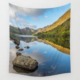 Crafnant Lake Snowdonia Wall Tapestry