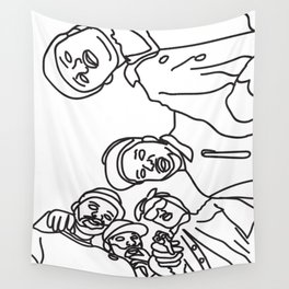 ASAP Mob Wall Tapestry