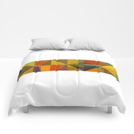 Color and Pattern Study Panorama Comforters