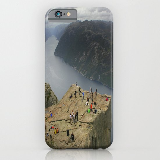 Preikestolen, Norway (2) iPhone & iPod Case