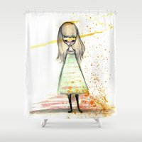 sister Shower Curtains featuring Sister by solocosmo