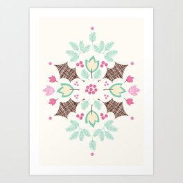 The Holly and The Ivy Art Print