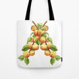 Apricot Branch Tote Bag
