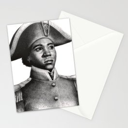 Suzanne Béliar, Haitian Freedom fighter Stationery Cards