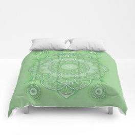 mandala Chakra Anahata Comforters