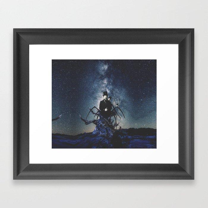Tarantula Man Framed Art Print