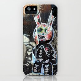 Dead bunny iPhone Case