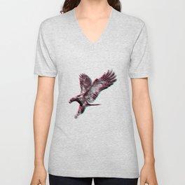 Bird Native birds songbird eagle gift Unisex V-Neck