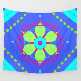 Multidimensional Guardian Wall Tapestry