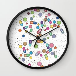 A Bitter Pill to Swallow Cover - Pills Wall Clock