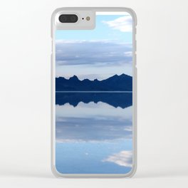 Soft Reflections Clear iPhone Case