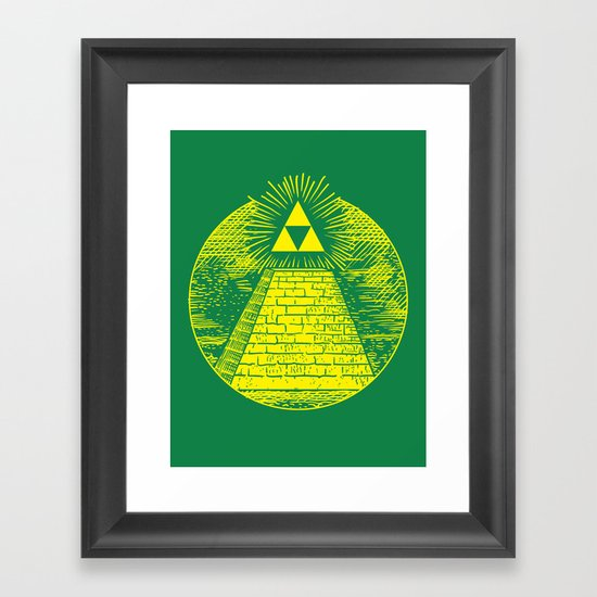 Masonic Link  Framed Art Print