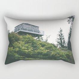 Oregon Fire Lookout Rectangular Pillow
