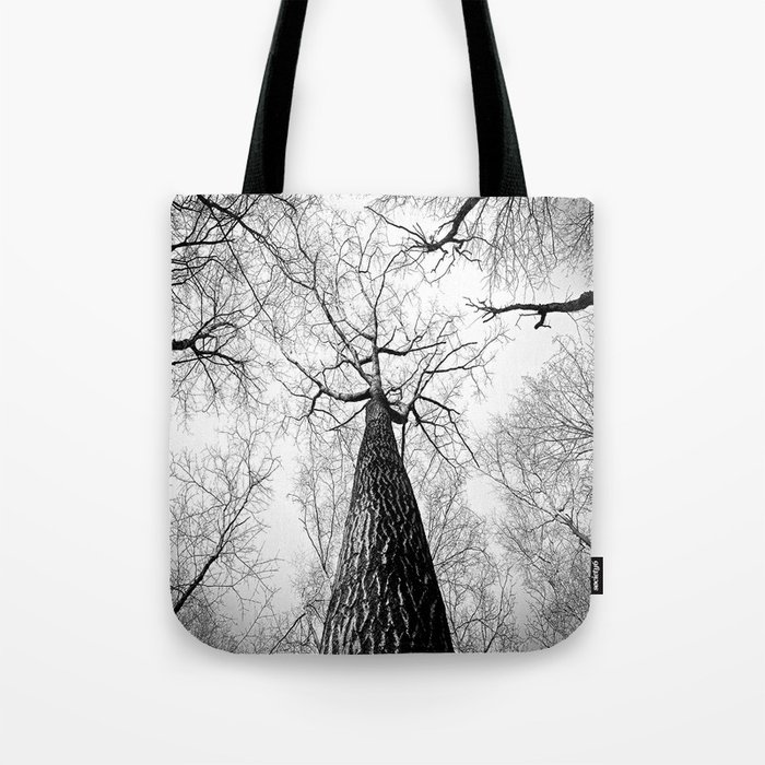 Under a falling sky Tote Bag
