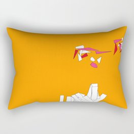 Fragmentation 1 Rectangular Pillow