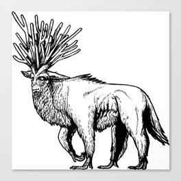 deer god Canvas Print