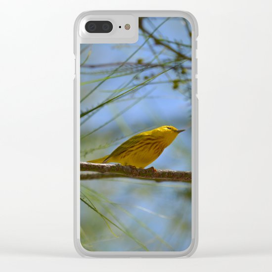 Warbler Clear iPhone Case