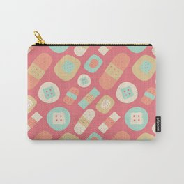 Cute patches pattern Carry-All Pouch