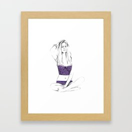 Jaz Framed Art Print