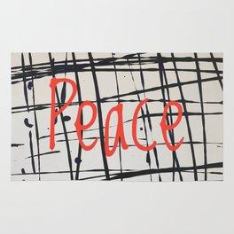 Best foot forward - Peace Rug