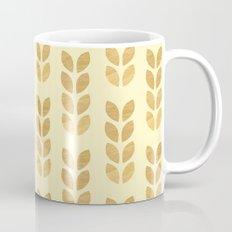 Golden geometric knit inspired Mug