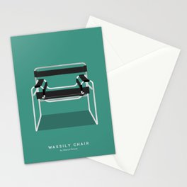 Wassily Chair - Marcel Breuer Stationery Cards