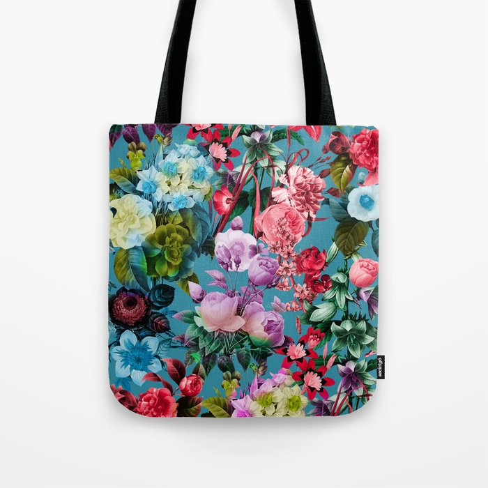 SUMMER BOTANICAL V Tote Bag