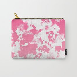 Piper - abstract ombre minimal pink fade hot pink neon girly trendy art minimal design Carry-All Pouch