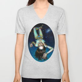 My personal space Unisex V-Neck
