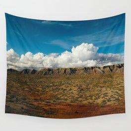 Colorful Utah Desert Plateaus Wall Tapestry