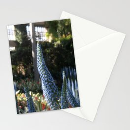 Field of Blue Flowers Stationery Cards