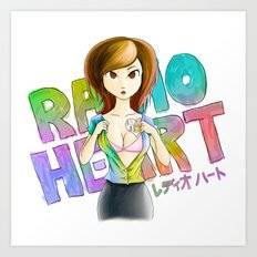 Radioheart Art Print