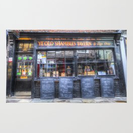 Ye Old Shambles Tavern York Rug