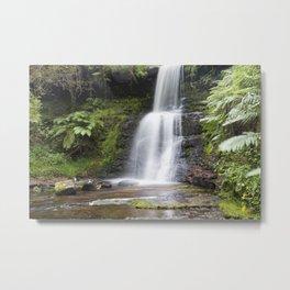 Blaen-y-glyn Waterfall 6 Metal Print