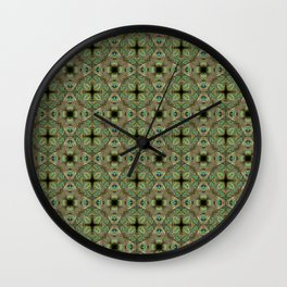 FREE THE ANIMAL - PAVÃO Wall Clock