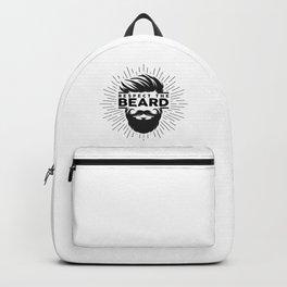 Respect The Beard! Backpack