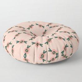 Coral gum nut pattern Floor Pillow