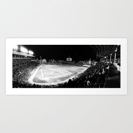 Wrigley Panoramic  Art Print