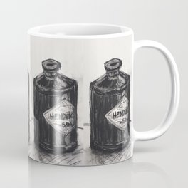 Gin and Charcoal Coffee Mug