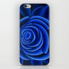 Blue Rose iPhone & iPod Skin