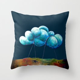 Cloud Tied Throw Pillow