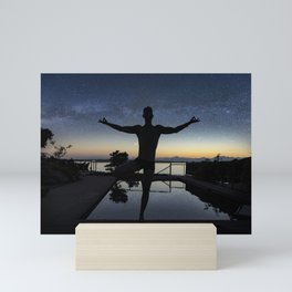 Galaxy Zen Mini Art Print