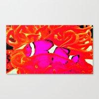 nemo Canvas Prints featuring nemo. by rachel kathleen