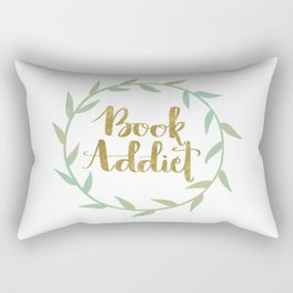 Book Addict Rectangular Pillow