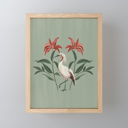 Tropical Bird  Framed Mini Art Print