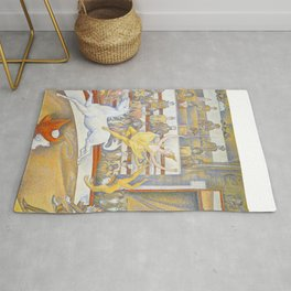 "Georges Seurat ""The Circus"" Rug"